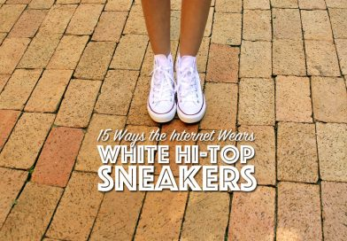 How the Internet Wears: White Converse Hi-Tops