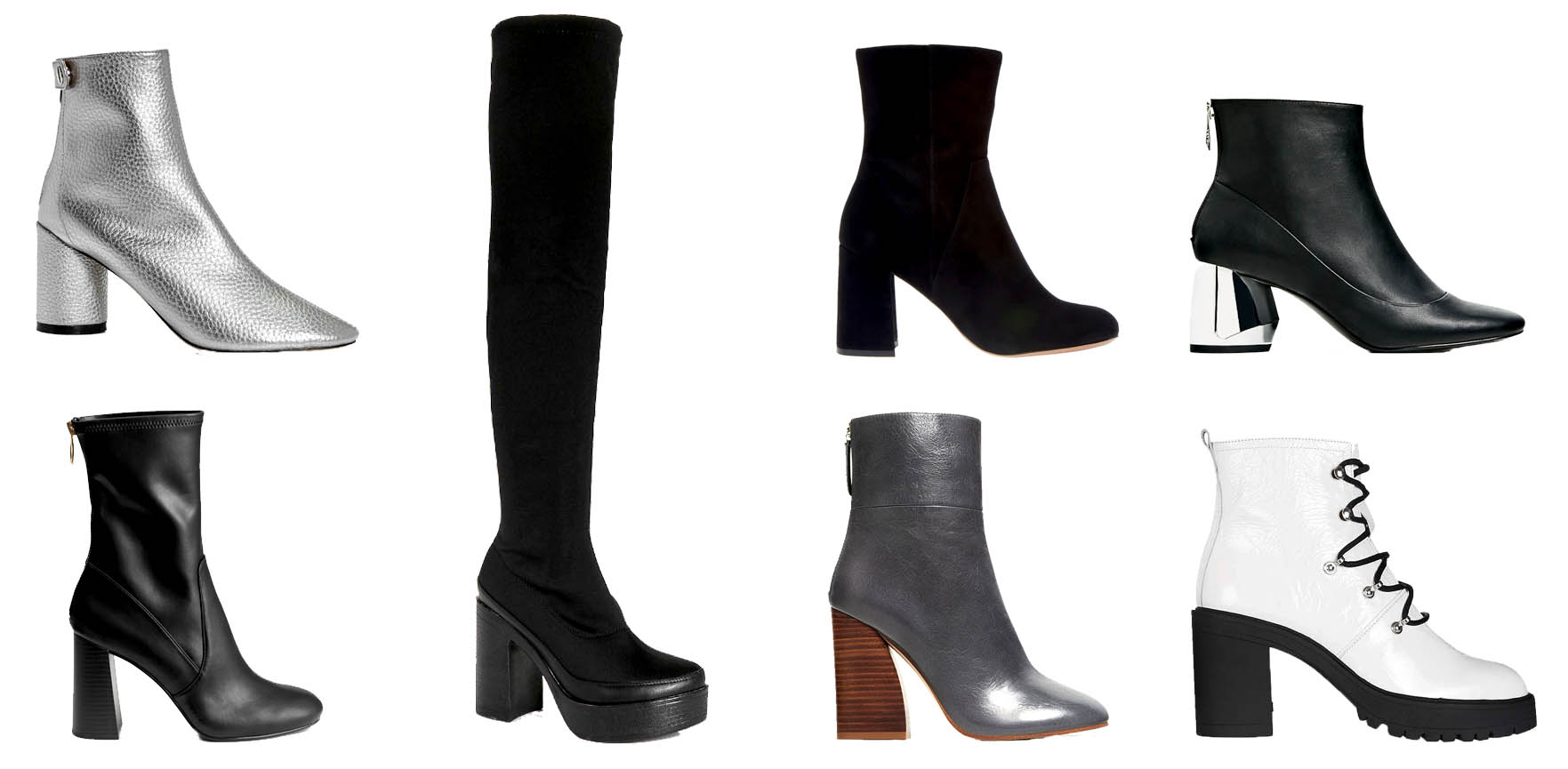 30 pairs of 2004 boot fall fashion
