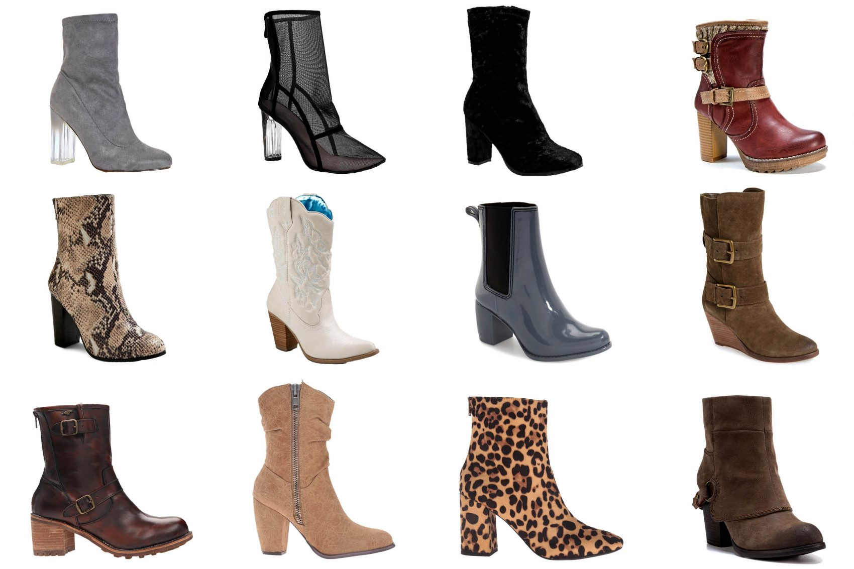 Tall Mid Calf Ankle Boots: Fall 2016 Budget-Friendly Affordable Boot Trends