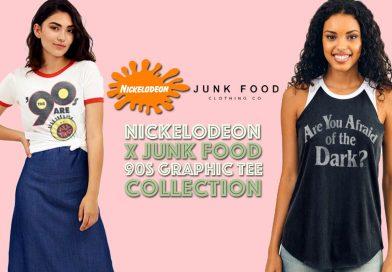 Goodbye, Paycheck: Vintage Nickelodeon Tees from Junk Food