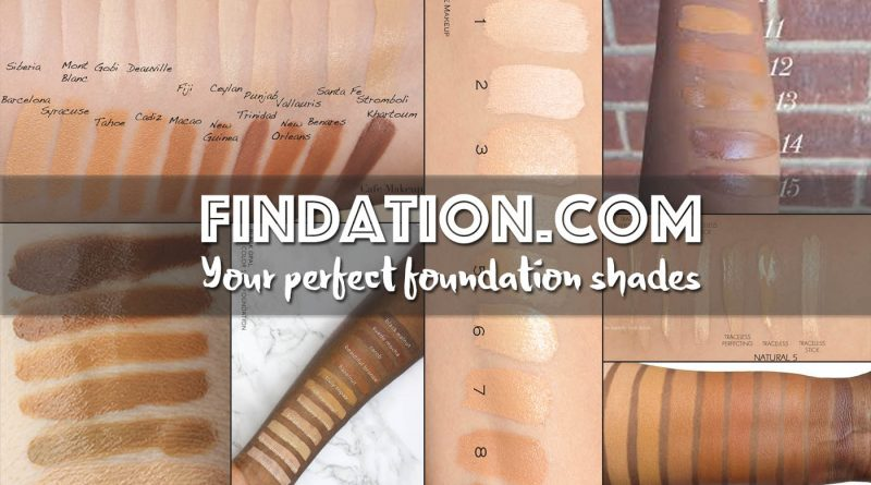 Findation Finds Your Perfect Foundation Shade Across All Brands