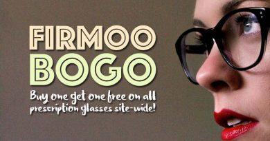 Firmoo BOGO Free Prescription Glasses Sale