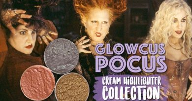 Shiro Cosmetics Glowcus Pocus Cream Highlighter Trio -Halloween