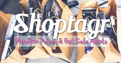ShopTagr: Price Monitoring, Stock & Sale Notifications