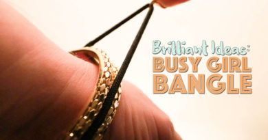 Busy Girl Bangle - Hair Tie Accessory Review