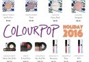 Colourpop's Holiday 2016 Releases are Kind of Irresistable