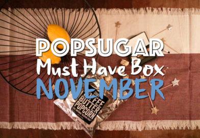 POPSUGAR #MustHaveBox November Unboxing: Winter Entertaining