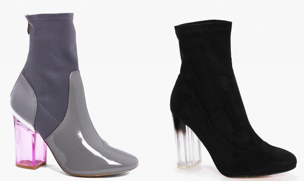 Sock Boots from Boohoo