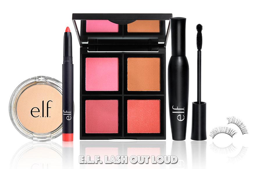 e.l.f. Lash Out Loud Holiday Beauty Bundle
