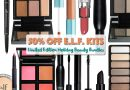 Get 50% off e.l.f.'s LE Holiday Value Bundles Until New Year's Eve!