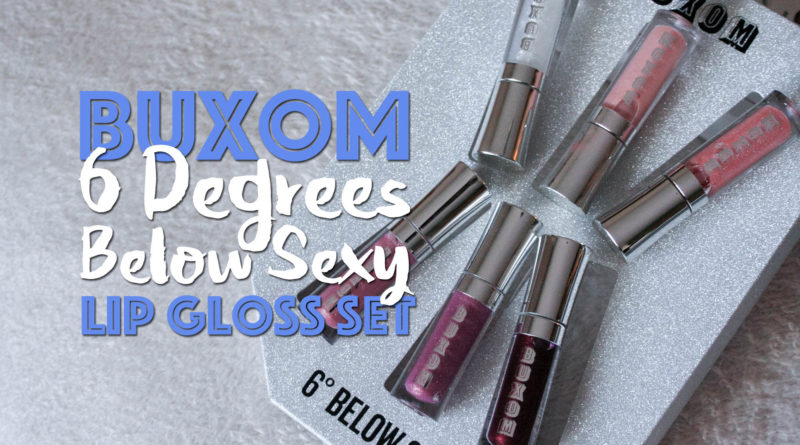 Holiday Beauty: Buxom 6 Degrees Below Sexy Review & Swatches