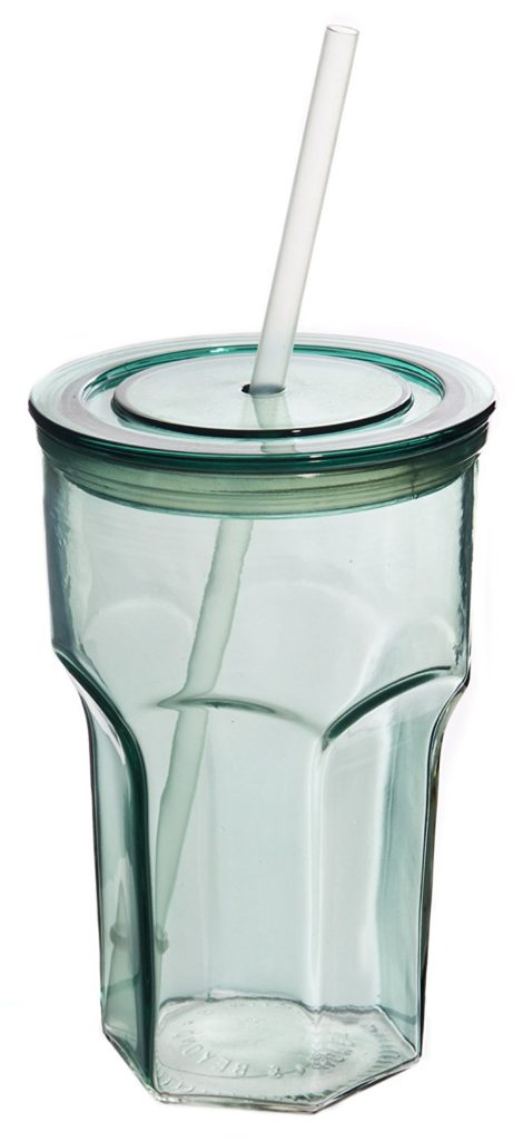 ... Guide Under $10: Glass Tumbler for To-Go Cold Drinks & Iced Coffee