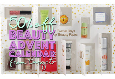 Target's 12 Days of Beauty Faves Advent Calendar is Half Off!