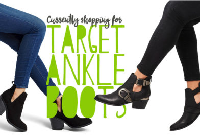 Spring Style: Currently in the Target Ankle Boot Section
