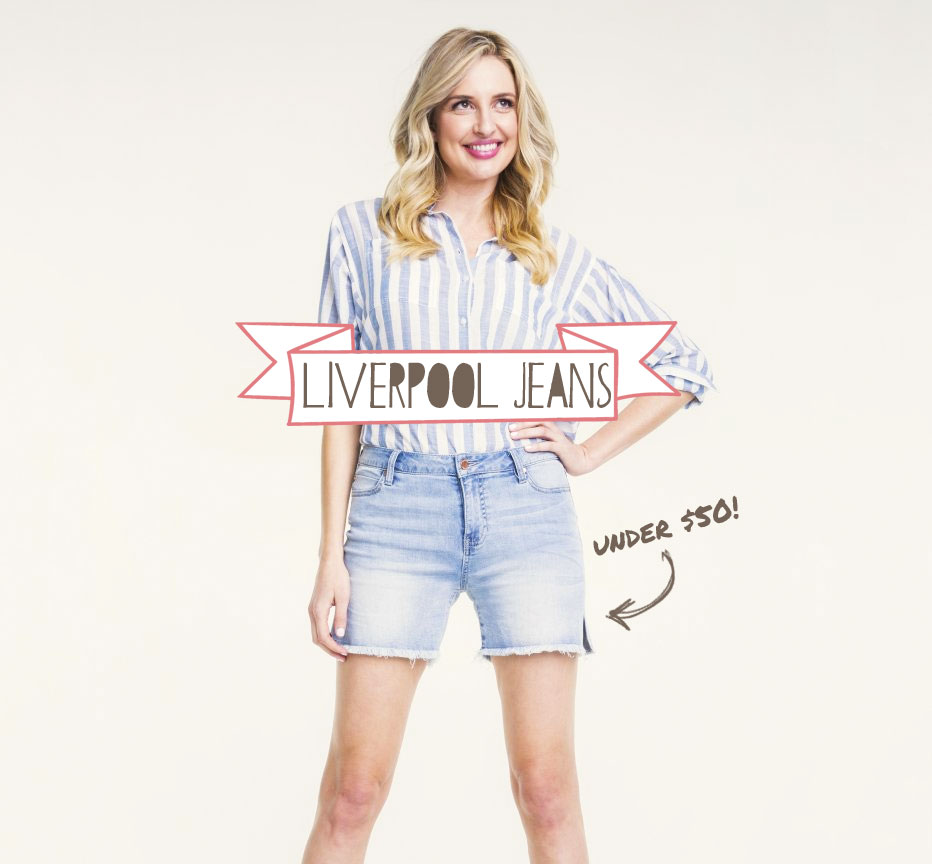 24ced1094c5aa The Perfect Shorts Under $50 from Liverpool Jeans | Broke And ...