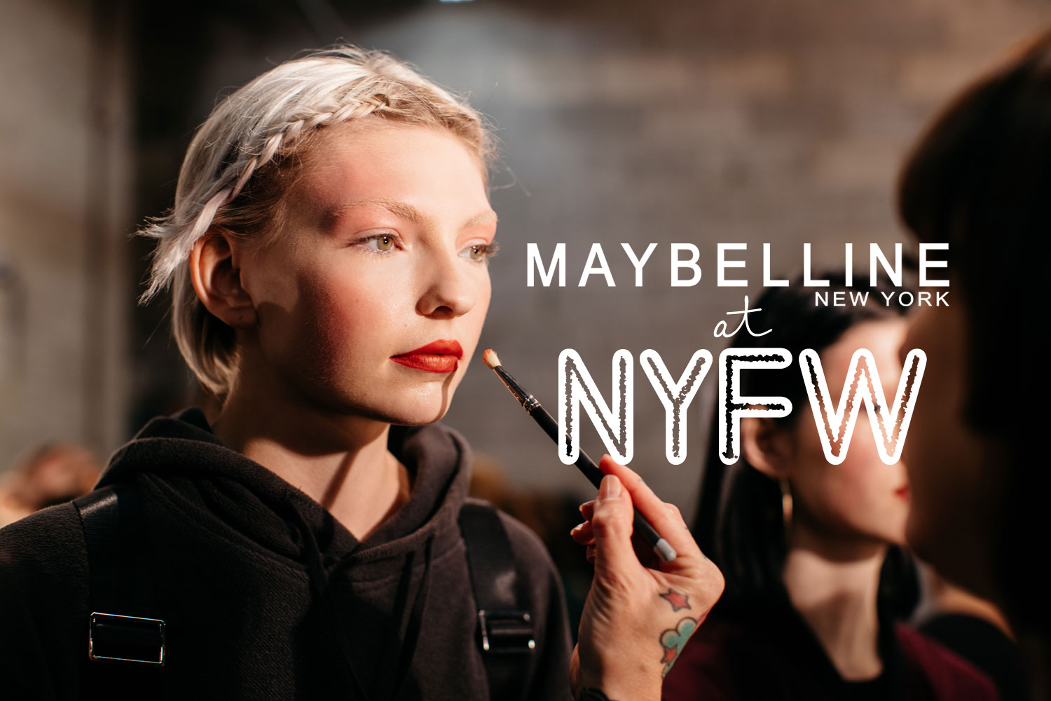 a24448f41 Drugstore Makeup at Fashion Week: Maybelline's 16 NYFW Runway Looks ...