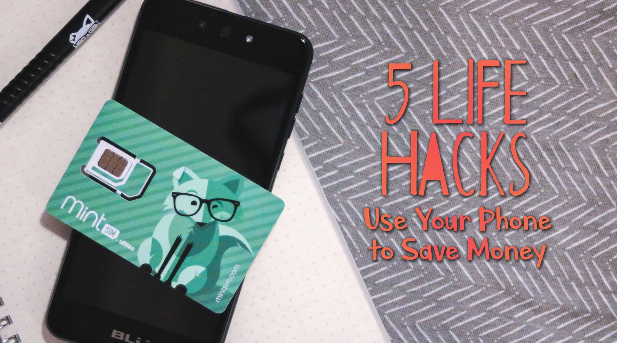 a19dffcb02d7 5 Ways to Use Your Phone to Start Saving Money