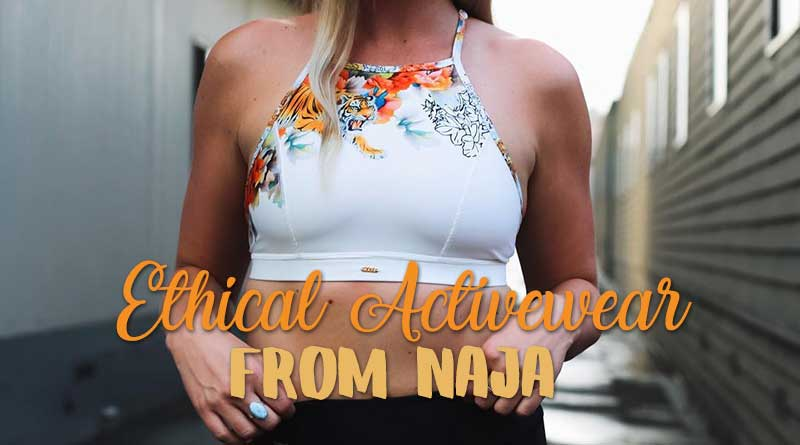 faa911a0e3d New Fair Trade Activewear from Naja Lingerie